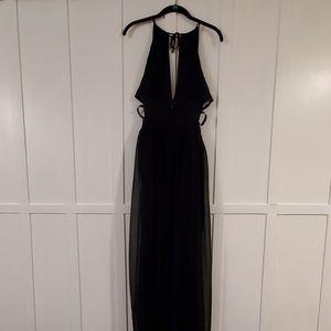 Express Black Cutout Dress